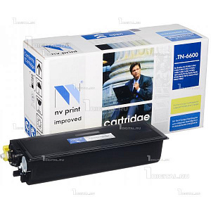 Картридж NV Print TN-6600 для Brother HL-P2500/MFC-8350/8750/9600/MFC-9650/9750/9850/9870/9660 совместимый (6К)NV PrintРесурс 6000 страниц при 5% заполнении