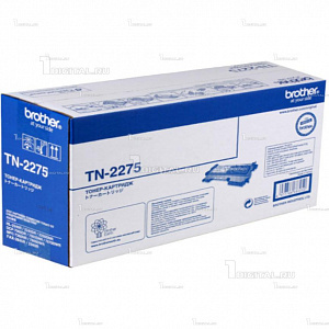 Картридж Brother TN-2275 для HL-2240/2250DN/DCP7060/7065/7070/MFC7360/7860 (2,6K)BrotherРесурс 2600 страниц