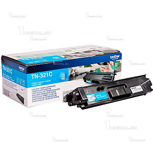 Картридж Brother TN-321C голубой для HL-L8250/8350/ DCP-L8400/8450/ MFC-L8650/8850 (1,5K)BrotherРесурс 1500 страниц
