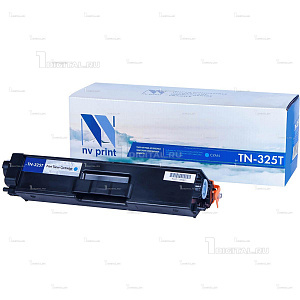 Картридж NV Print TN-325C голубой для Brother HL-4140/4150/4570 DPC-90559270 MFC-9460/9465/9970 (3.5К)NV PrintРесурс 3500 страниц при 5% заполнении