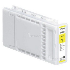 Картридж Epson C13T693400 (T6934)Epsonдля SC-T3000/ T5000/ T7000 UltraChrome XD Yellow (350ml)