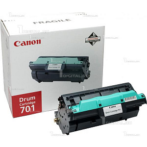 Фотобарабан Canon 701 Drum Unit (9623A003) черный для LBP-5200/ MF8180C (20К)CanonРесурс 20000 страниц