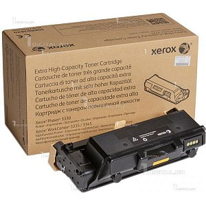 Картридж Xerox 106R03623 черный для Phaser 3330 WorkCentre 3335/3345 (15К)XeroxРесурс 15000 страниц