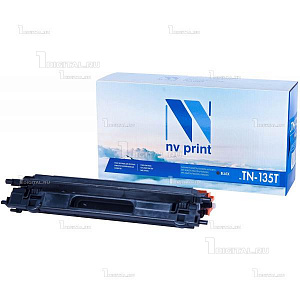 Картридж NV Print TN-135BK черный для Brother HL-4040/4050/4070 DCP-9040/9042/9045 MFC-9440/9450/9840 (5K)NV PrintРесурс 5000 страниц при 5% заполнении