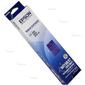Картридж Epson C13S015637BA Ribbon cartridge для LX-300/ 350Epson