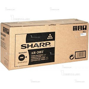 Картридж Sharp AR208LT черный для AR 5420/203/201 (8K) (AR-208LT)SharpРесурс 8000 страниц