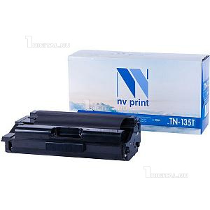 Картридж NV Print TN-135C голубой для Brother HL-4040/4050/4070 DCP-9040/9042/9045 MFC-9440/9450/9840 (4K)NV PrintРесурс 4000 страниц при 5% заполнении